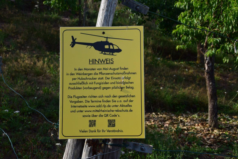 Pestizide Hubschrauber